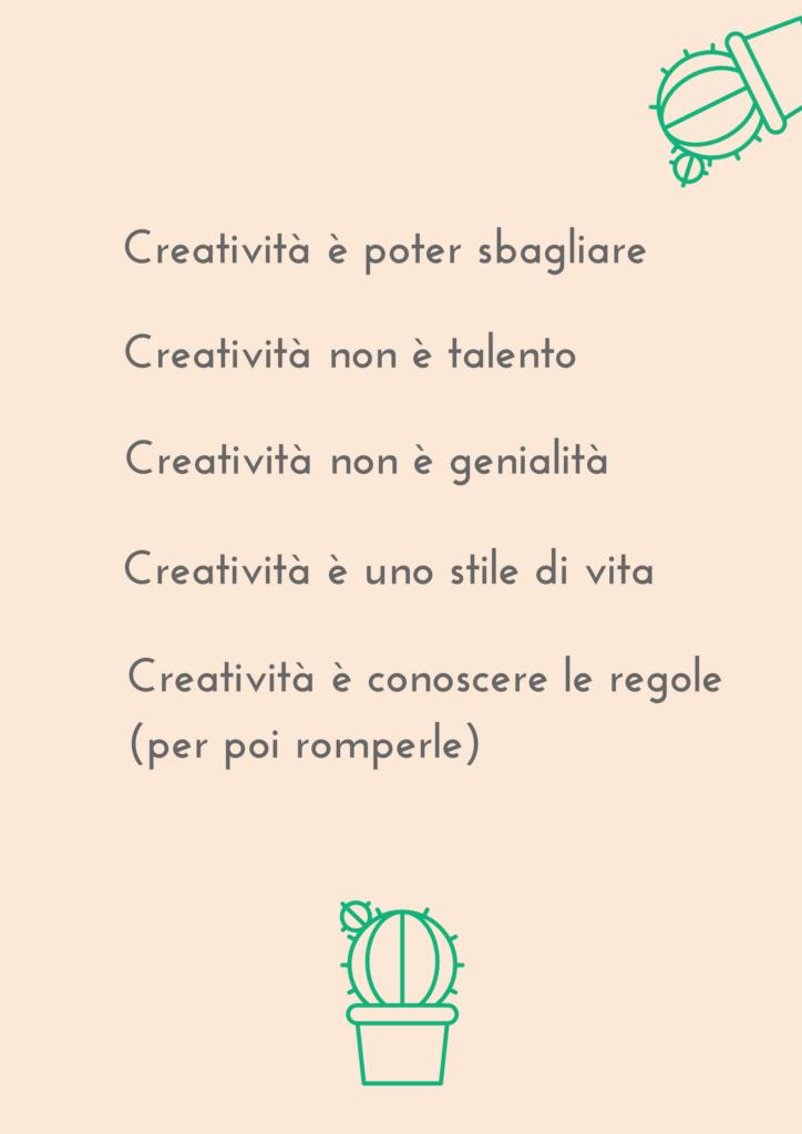 Appuntamento con la Creatività